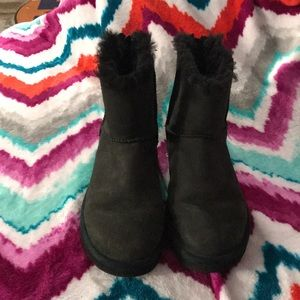 Mini black UGGS